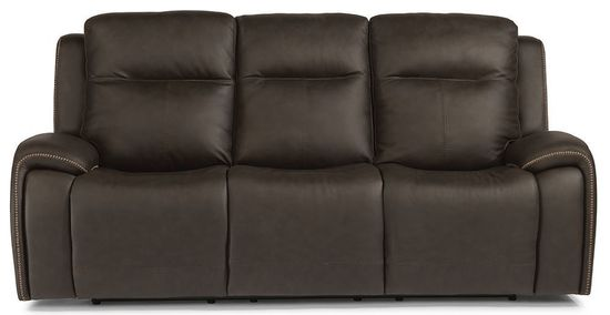 Picture of Solo Black Power Reclining Sofa