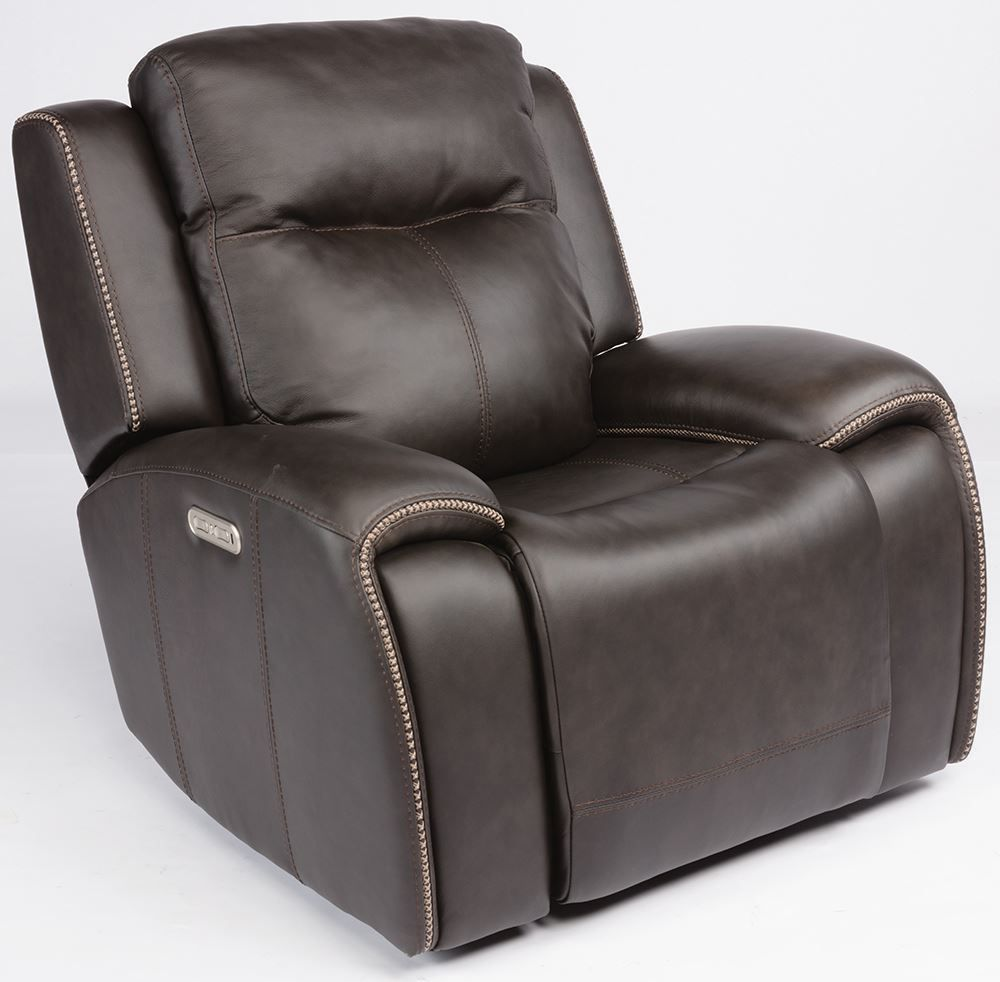 Picture of Solo Black Power Glider Recliner