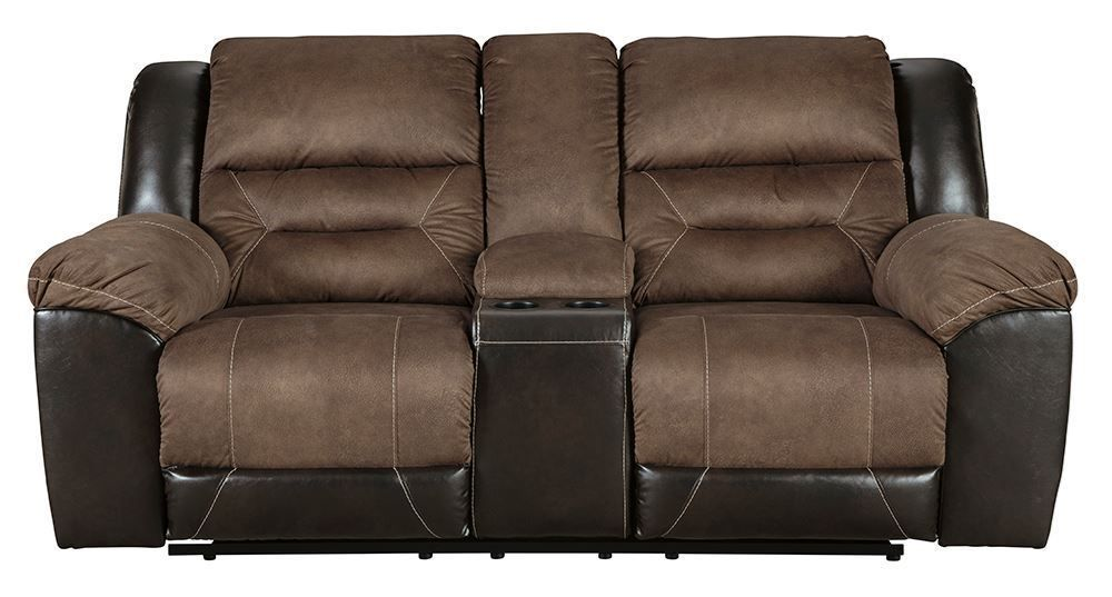 Picture of Earhart Chestnut Console Loveseat