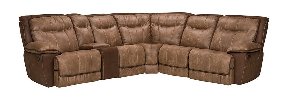 Picture of Cole Brown Six Piece Sectional