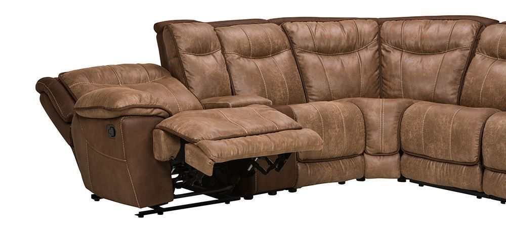 Magnificent Cole Brown Six Piece Sectional Pdpeps Interior Chair Design Pdpepsorg
