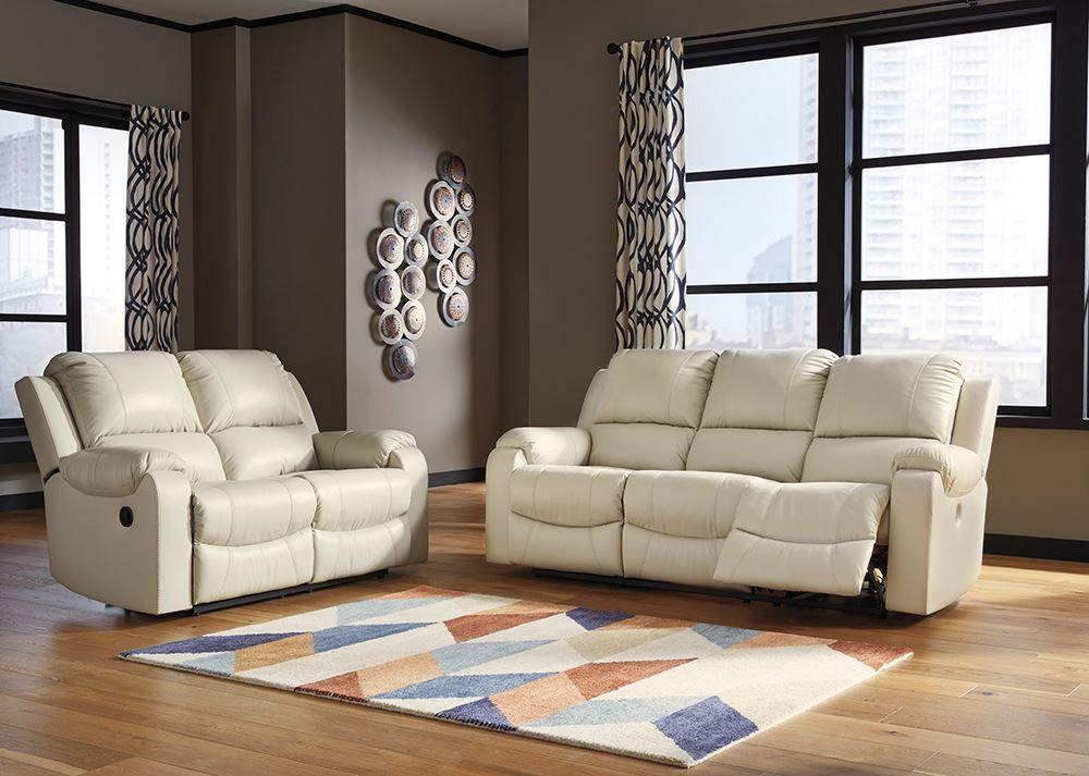 Picture of Rackingburg Cream Reclining Sofa