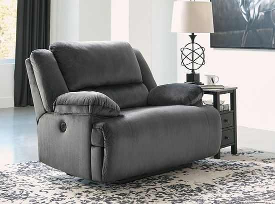 Picture of Clonmel Charcoal Zero Wall Recliner