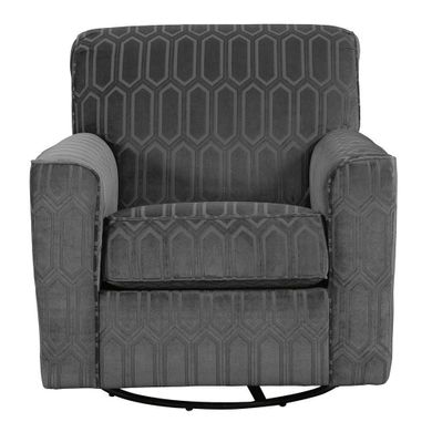 Zarina Graphite Swivel Chair