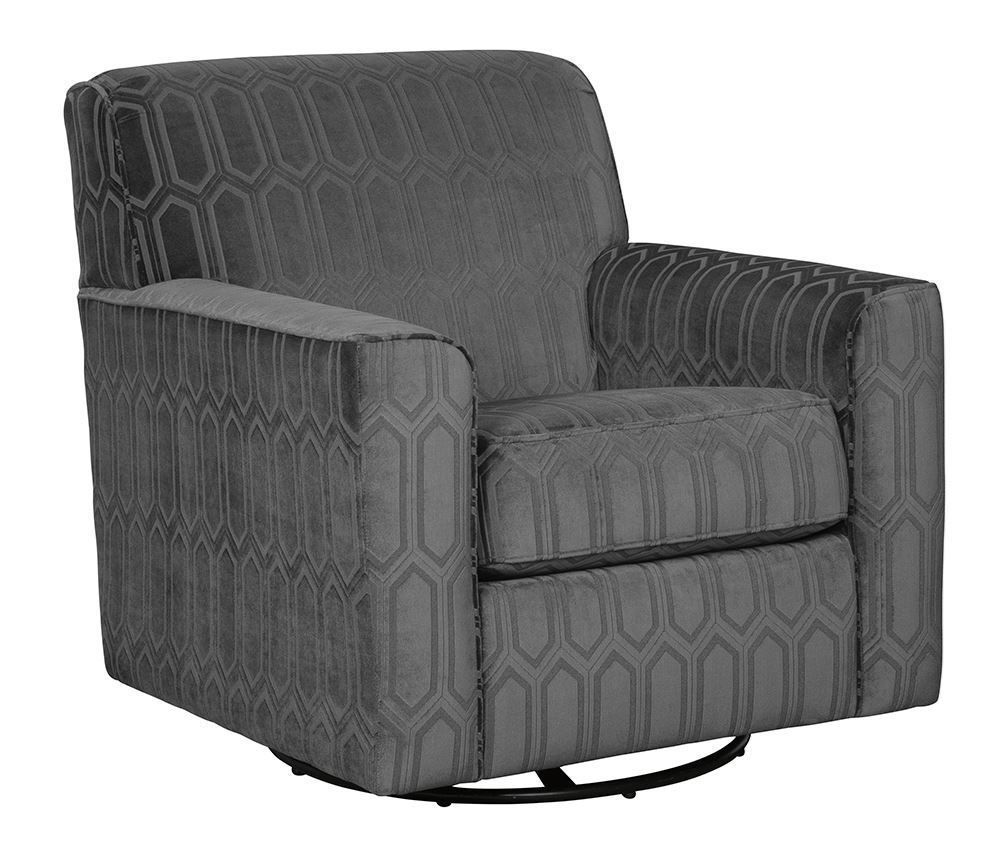 Picture of Zarina Graphite Swivel Chair