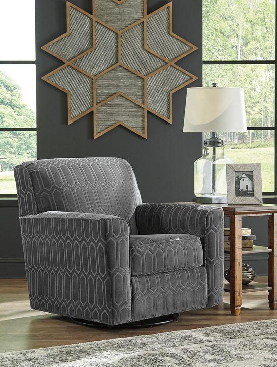 Picture of Zarina Graphite Swivel Chair