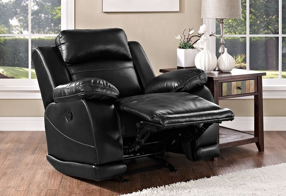 Picture of Vega Black Recliner