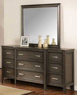 Richfield Smoke Dresser and Mirror