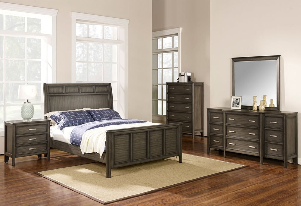 Picture of Richfield Smoke King Bedroom Set