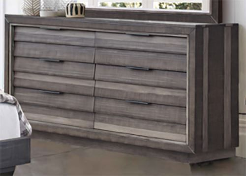 Picture of Shutter Double Drawer Dresser