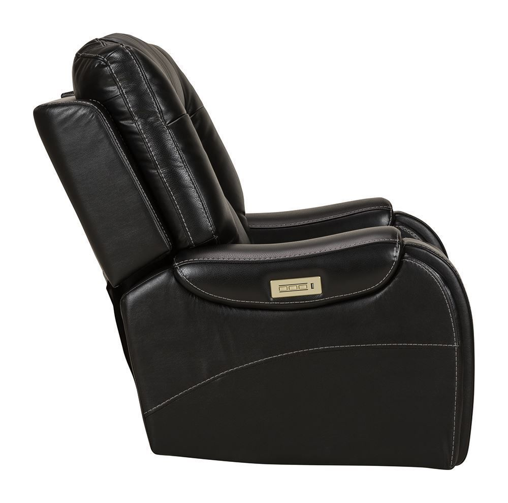 Picture of Stark Onyx Leather Power Recliner
