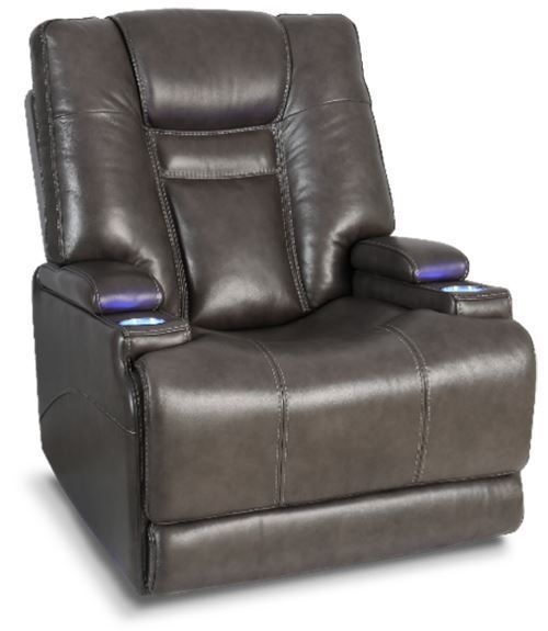 Picture of Stark Smoke Leather Power Recliner