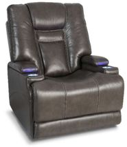 Stark Smoke Leather Power Recliner