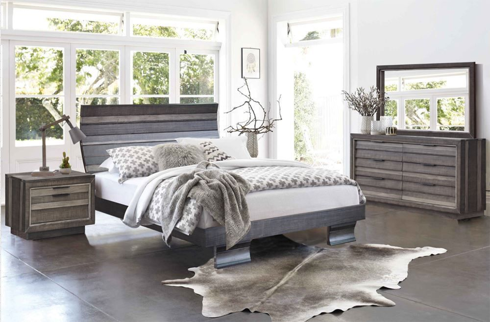 Picture of Shutter King Bed Set