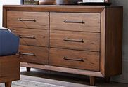 Denver Double Drawer Dresser