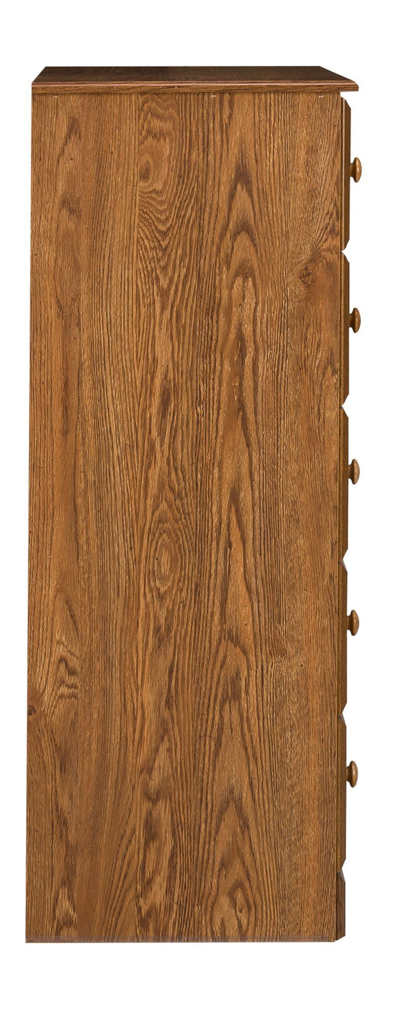 Picture of Autumn Oak Five Drawer Chest