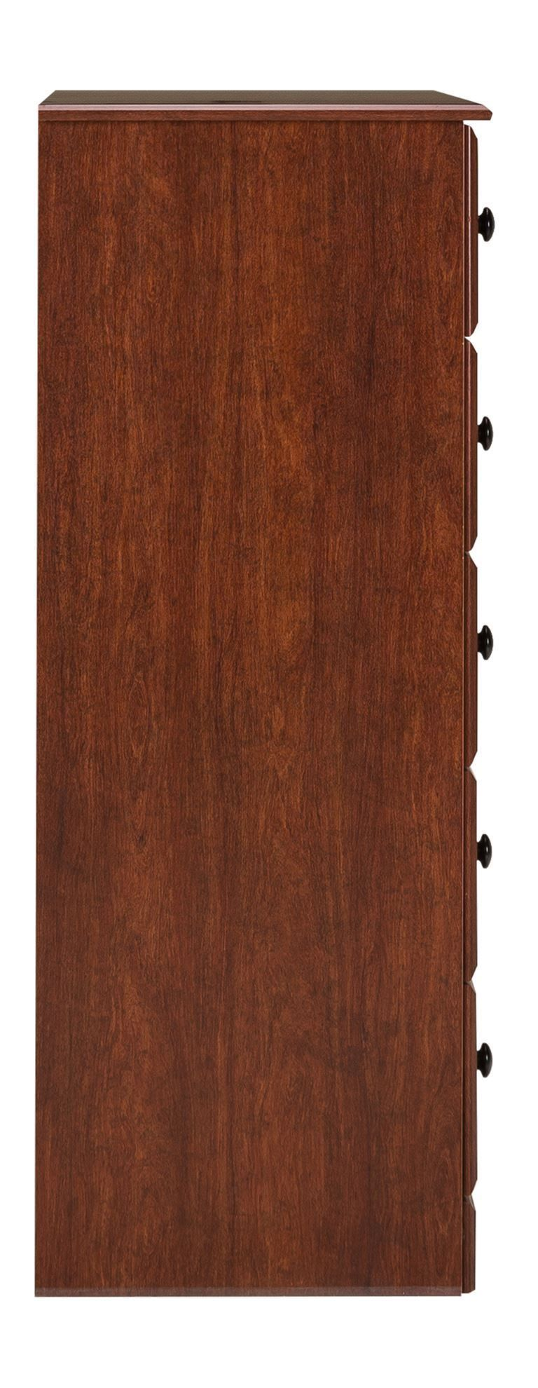 Picture of Cinnamon Fruitwood Five Drawer Chest