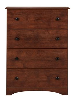 Cinnamon Fruitwood Four Drawer Chest
