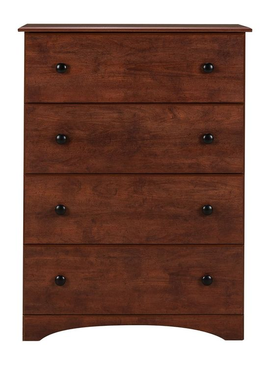 Picture of Cinnamon Fruitwood Four Drawer Chest