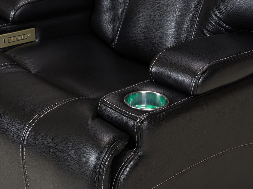 Picture of Stark Onyx Power Reclining  Led Recliner