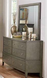 Cotterill Grey Dresser and Mirror