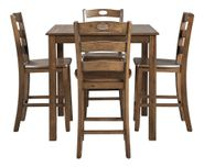 Hazelteen Square Counter Table Set