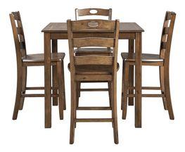 Hazelteen Square Counter Table Set