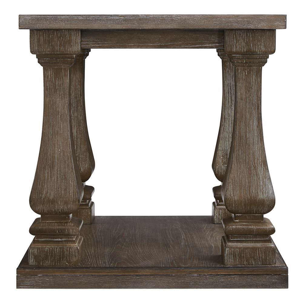 Picture of Johnelle Gray Rectangular End Table
