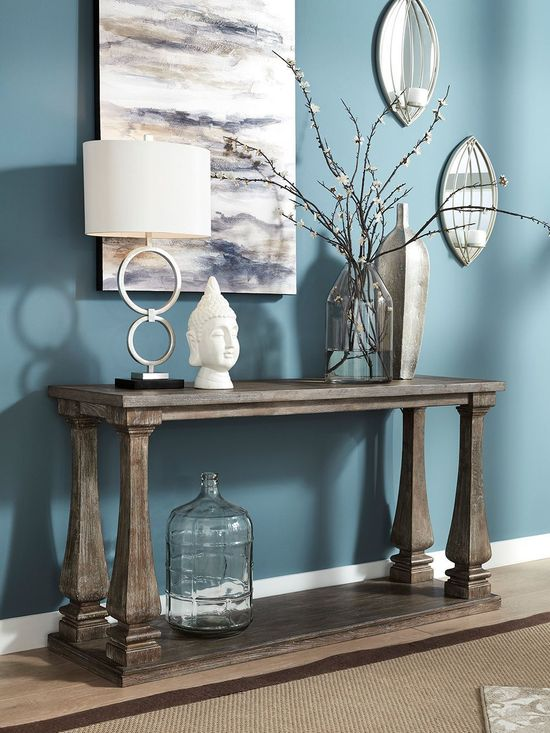 Picture of Johnelle Gray Sofa Table