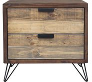 Cruz Two Drawer Nightstand