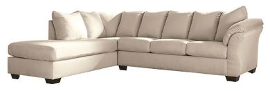 Darcy Stone Two Piece Sectional