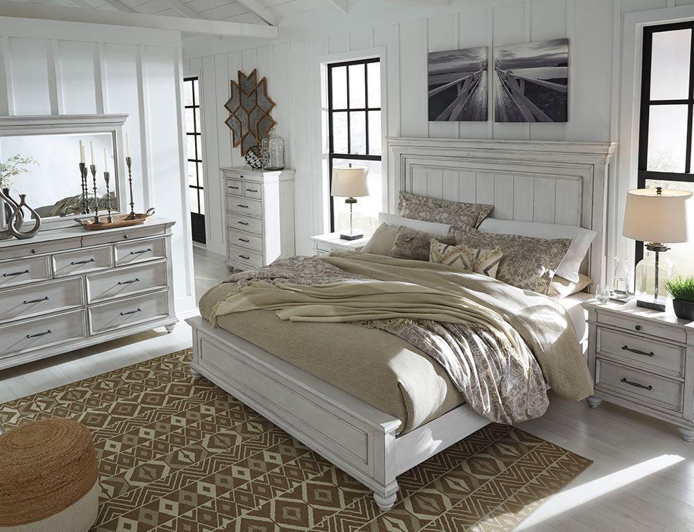 Kanwyn Queen Panel Bedroom Set The Furniture Mart