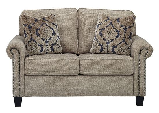Picture of Basiley Pewter Loveseat