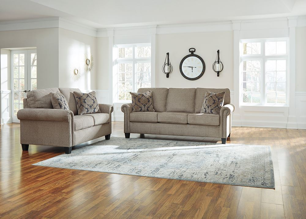 Picture of Basiley Pewter Sofa