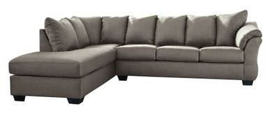 Darcy Cobblestone Two Piece Sectional