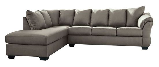 Picture of Darcy Cobblestone Two Piece Sectional