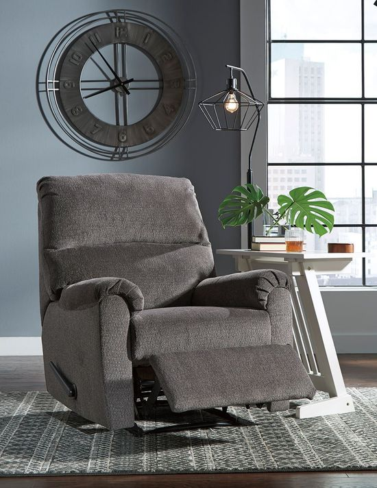 Picture of Nerviano Gray Recliner
