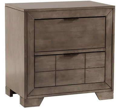 Logic Grey Nightstand