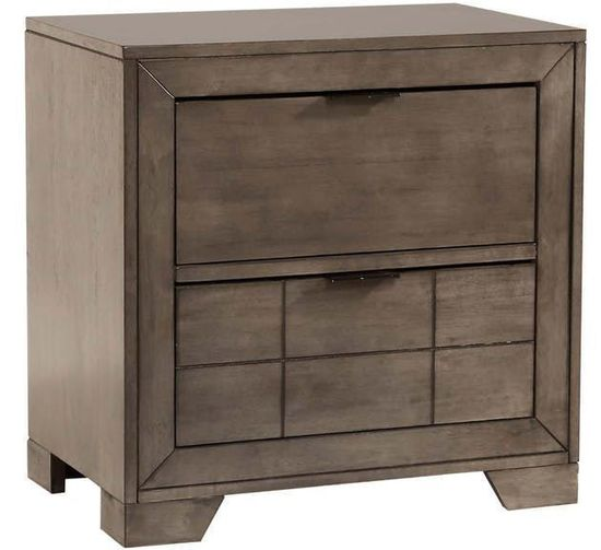 Picture of Logic Grey Nightstand