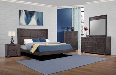 Logic Grey Queen Bedroom Set