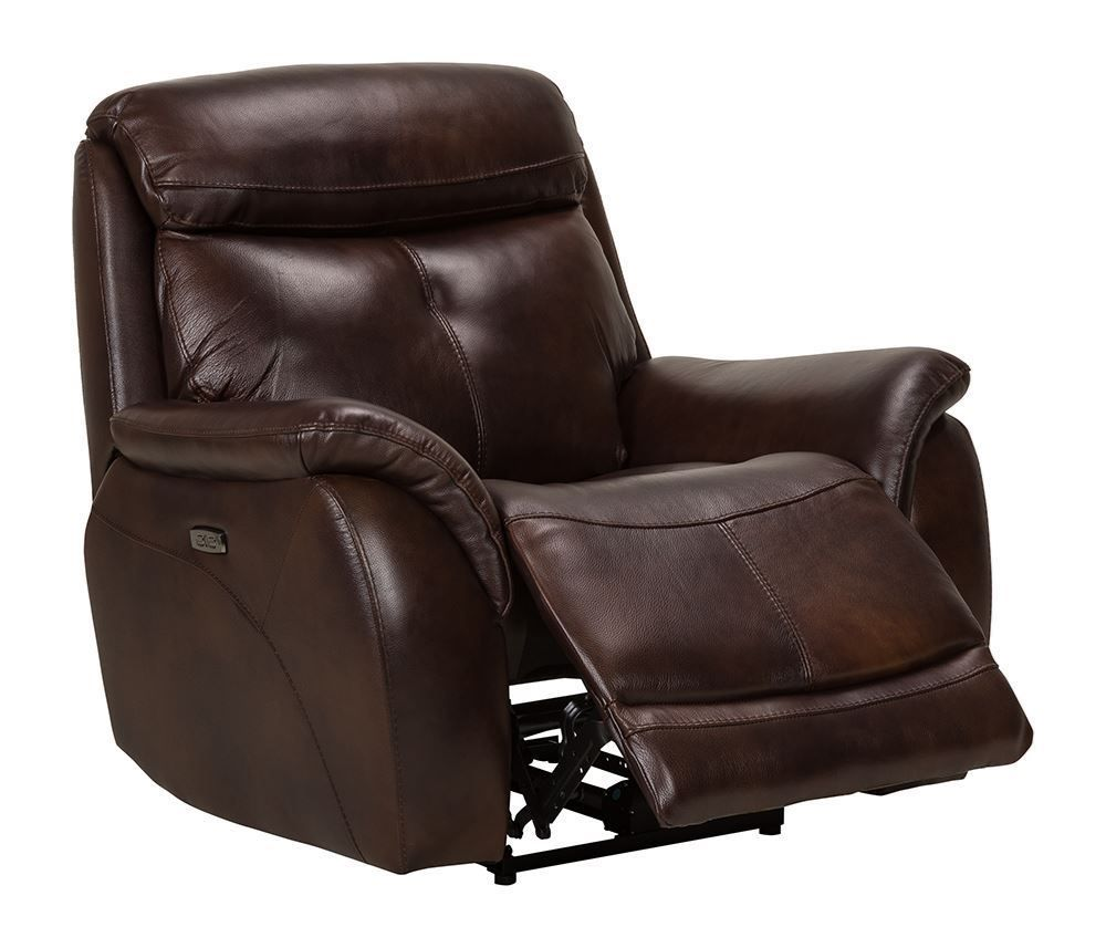 Picture of Alpha Brown Power Recliner