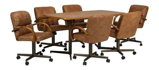 Picture of Denver Table with Six Chairs