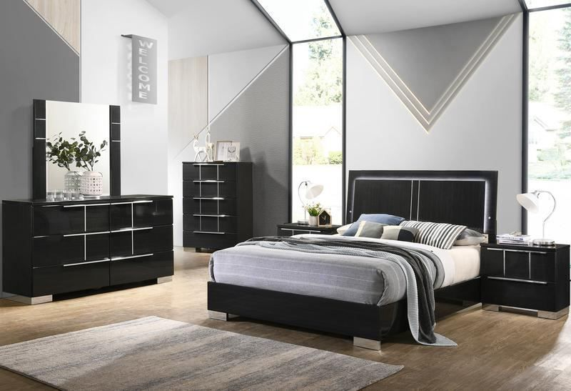 Picture of Aviva Black King Bedroom Set