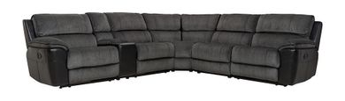Fred Coal Six Piece Reclining Sectional