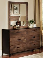 Infinity Dresser and Mirror