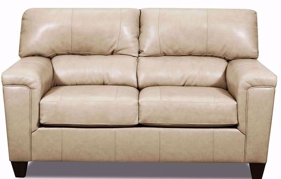 Picture of Soft Touch Putty Loveseat