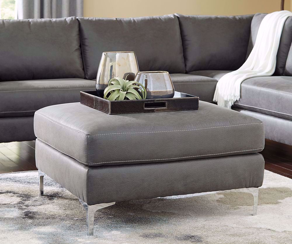 Picture of Ryler Charcoal Accent Ottoman