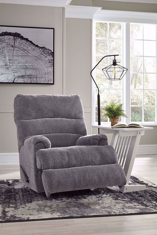 Picture of Man Fort Graphite Rocker Recliner