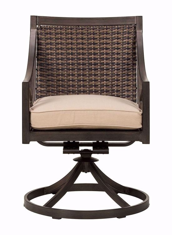 Picture of Davenport Woven Swivel Rocker
