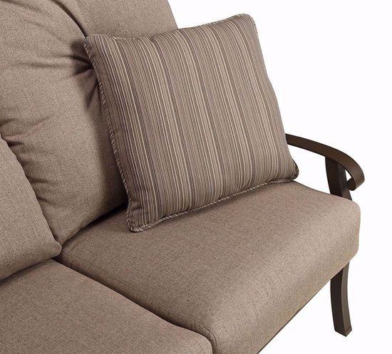 Picture of Cortland Linen Stone Sofa
